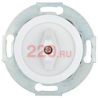 880704-1 - Выключатель поворотный (переключатель на 2 направления - схема 6) 10 A, 250 B (белый) Vintage.