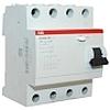 Выкл. диф. блок утечки тока 4 мод. F204 AC-25A/0.3A F204AC-25_0,3, ABB - 2CSF204001R3250