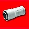 Муфта «труба-труба армированная» диаметр 25-20 мм RY25, упаковка 25 шт, цвет серый, Экопласт - 44625