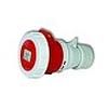 Прямая переносная защищенная розетка 3P+PE 32A (309.2241) - 85032
