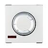 Светорегулятор поворотный нажимной 600 Вт (серебристый металлик) с подсветкой, LK45 - 857203