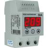 Реле напряжения V-protector DIN номинальный/максимальный ток 50А/60А, DigiTOP - DT-vp-50a