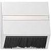 Накладка для приборов с квадратной центральной панелью и наклонным выходом глянцевый белый, Gira System 55 - G068203