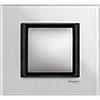 Рамка одинарная белое стекло, Unica Class - SCMGU68.002.7C2