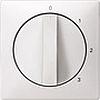 Накладка регулятора частоты вращения (термопласт) Белая, Merten SD - SCMTN316919