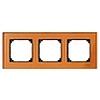 Рамка тройная Стекло Оранжевый кальцит, Merten M-Elegance - SCMTN404302