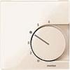 Накладка термостата комнатного (Мех.536400,536401) Беж глянц, Merten SM - SCMTN534744